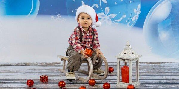 Profesionálne fotografovanie v ateliéri - krásny vianočný darček