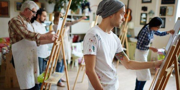 Jednodňový alebo mesačný umelecký kurz pre dospelých v Galérii Artšrot
