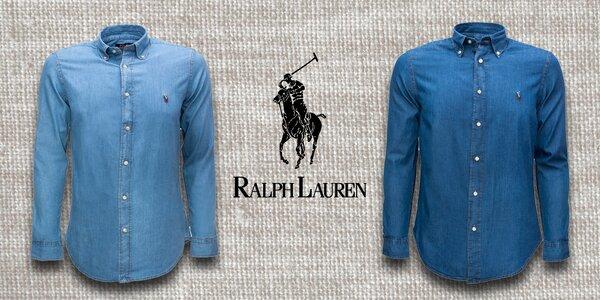 Pánské džínsové košele Ralph Lauren Denim