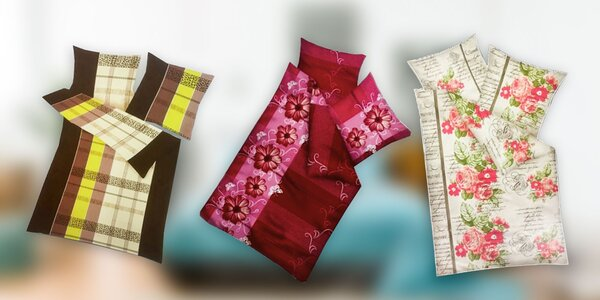 Štýlové posteľné obliečky Mikolux