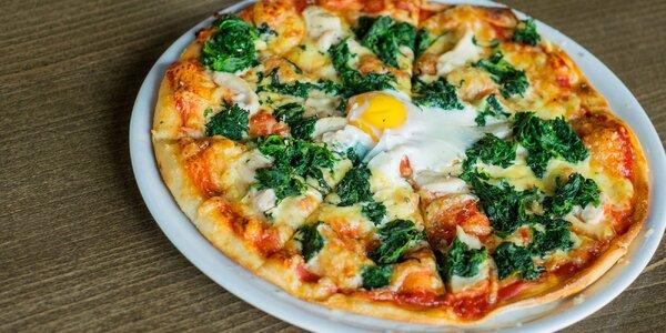 450 g Pizza s 5 surovinami podľa vášho výberu v EL BARRIO. Aj bezlepková!