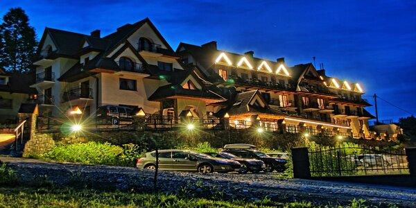 Wellness pobyt s večerou pre dvoch v hoteli Biały Dunajec Resort & Spa, dieťa…