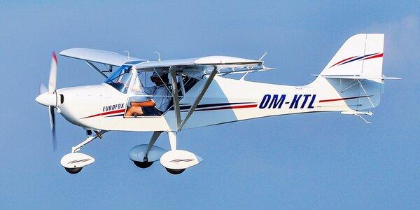 Vyhliadkový let hornoplošníkom s možnosťou pilotovania