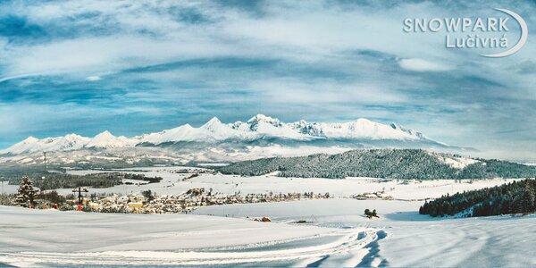 Celodenný skipas do Snowparku Lučivná! Aj cez víkendy!