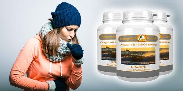 Omega 3,6,9 (1000 mg) - balenie 60 kps - na imunitu a pre zdravý vývoj organizmu