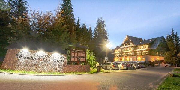 Jarný alebo letný horský pobyt v Hoteli Mikulášska chata*** v Jasnej