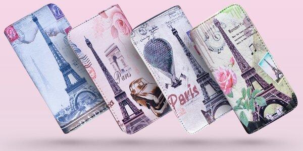 Francúzske čaro! Farebné peňaženky s motívom Eiffelovej veže!