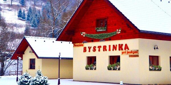 Wellness pobyt s lyžovačkou na Chopku a polpenziou v Penzióne Bystrinka **!…