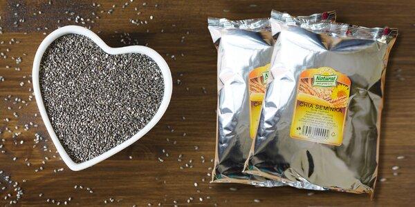 100, 500, 1000g a 5000g CHIA semienok pre vaše zdravie a energiu