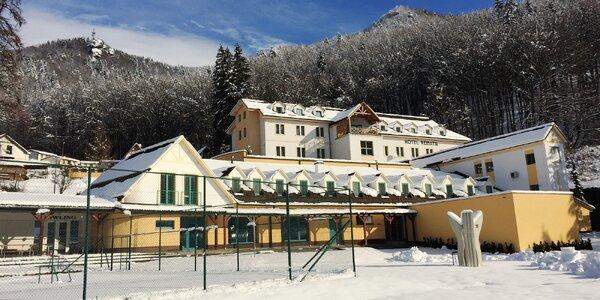 Skvelá lyžovačka s wellness v Hoteli Remata