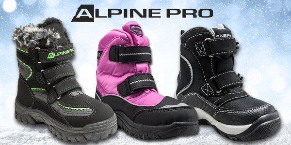 Detská zimná obuv Alpine Pro