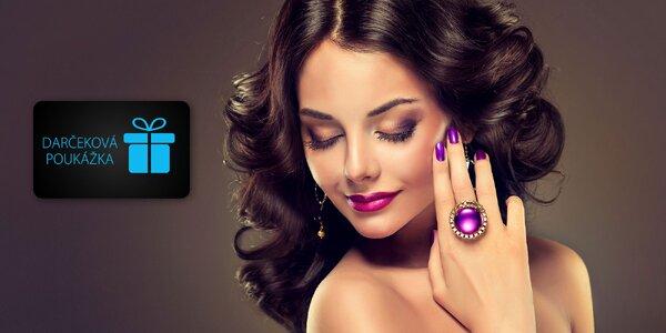 Darčekové poukážky na vybrané služby vo VIP salon beauty