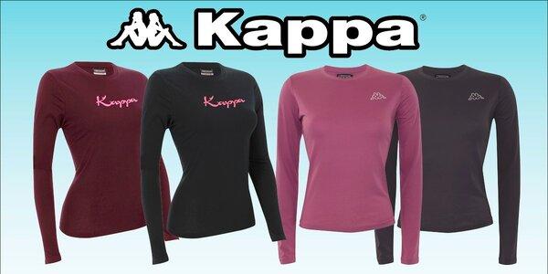 Dámske športové tričká značky Kappa