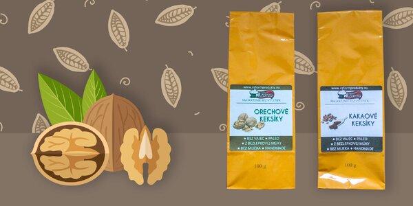 Reform Kakaové sušienky a orechové sušienky. Maškrtenie bez výčitiek!