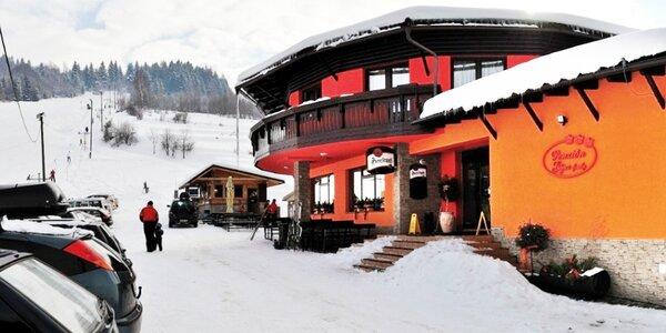 Rodinná lyžovačka na 2 alebo 3 noci v Oščadnici