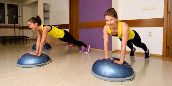 Vstupy aj permanentky na cvičenie bosu kardio alebo jumping