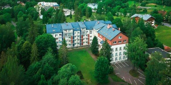 Apartmány v Tatranskej Lomnici - dovolenka pre celú rodinu i partie