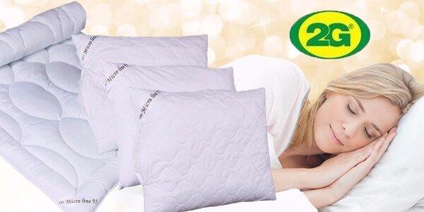 Vysoko hygienické lôžkoviny Micro Line s možnosťou vyvárania pre kľudný spánok