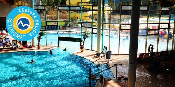 Celodenný vstup do Aquaparku Oravice - relaxujte v termálnej vode!