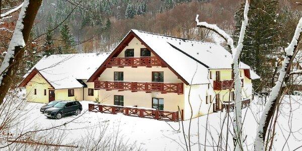 Wellness pobyt s lyžovačkou na Chopku a polpenziou v Penzióne Bystrinka **.…