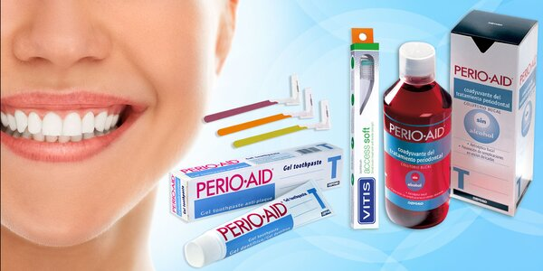 PERIO AID Balíček liečby parodontózy a zápalu ďasien