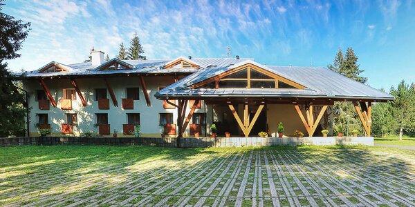 Rodinný pobyt pre nenáročných vo Vysokých Tatrách v Tatranskej Štrbe