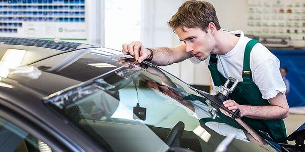 Oprava bodového poškodenia čelného skla či leštenie predných svetlometov