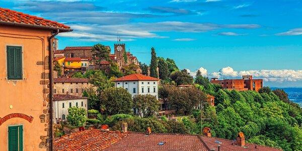 Nezabudnuteľná romantická dovolenka v kúpeľnom mestečku v srdci Toskánska