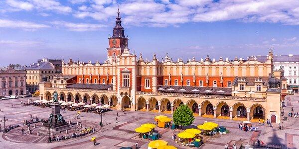 Pobyt až na 3 dni s raňajkami v centre Krakowa - deti do 5 rokov zadarmo!