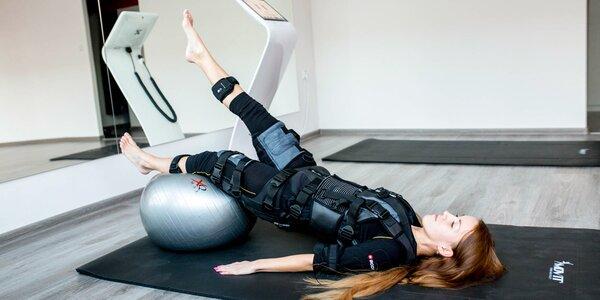 Privátne EMS cvičenie s profesionálnym trénerom - úbor, uterák aj pitie v cene!
