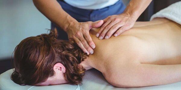 Klasická, športová či masáž chrbta a šije