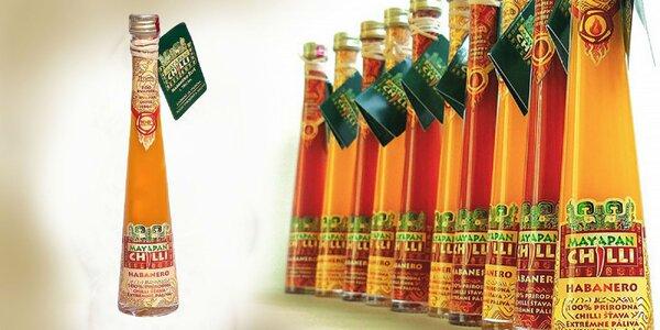 100%-tná šťava z CHILLI papričiek odrody HABANERO priamo od výrobcu