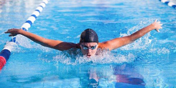Mesačné skupinové kurzy plávania alebo individuálny tréning