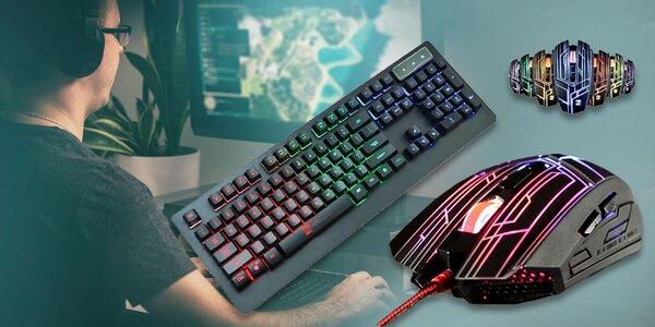 Herná klávesnica R8 gamer KB1818 alebo herná myš R8 gamer M1656