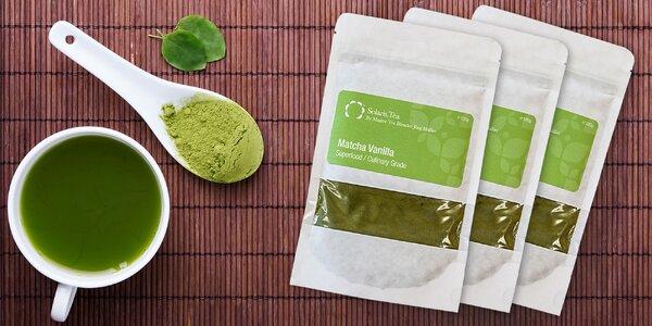 Osviežujúci čaj Matcha, alebo Matcha Vanilla! Certifikovaný BIO produkt!