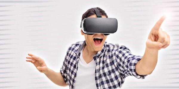 Párty alebo oslava vo virtuálnej realite s cateringom