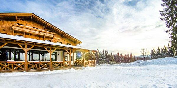 Wellness a lyžovačka na hrebeni Beskýd