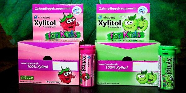 Zdravá Xylitol žuvačka nielen pre deti