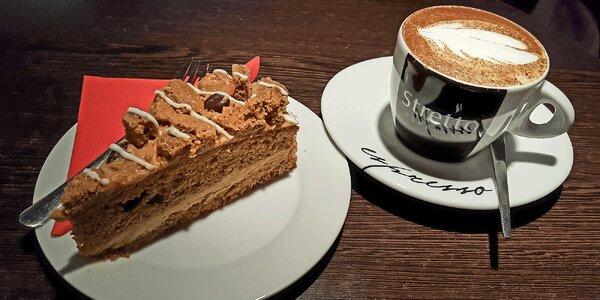 Espresso či cappuccino s koláčikom