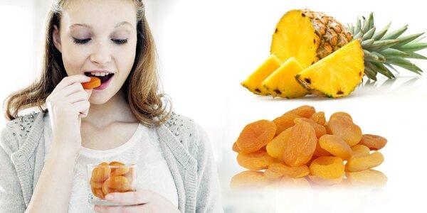 Sušené ovocie bez cukru