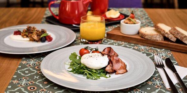 Raňajkové menu alebo lievance s mascarpone