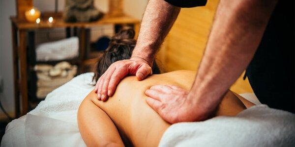 Senzuálna relaxačná celotelová olejová masáž