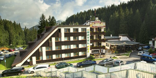 Hotel SKI – pobyt v Demänovskej doline
