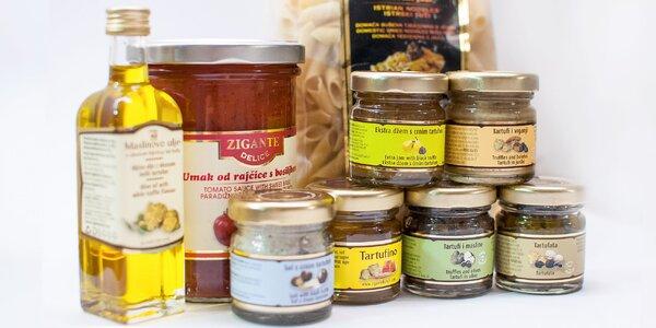 Darčekový balíček výrobkov z hľuzoviek
