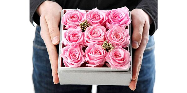 Prekvapte svoju lásku krabičkou ruží