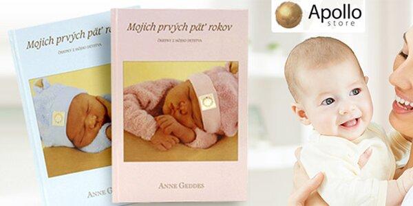 Kniha Mojich prvých päť rokov od Anne Geddes