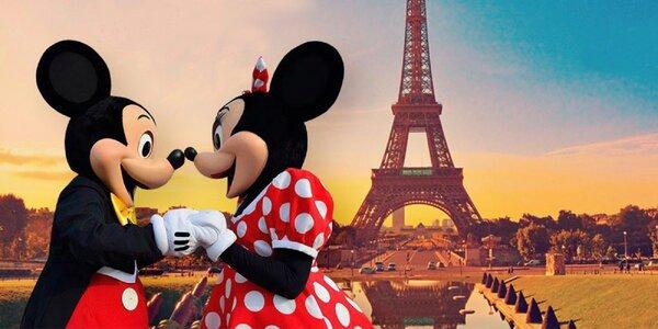 Paríž s možnosťou návštevy Disneylandu