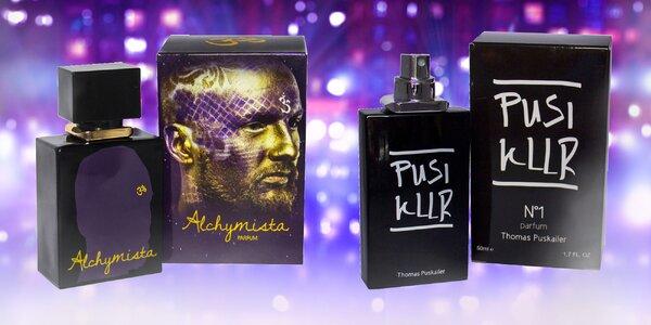 Dámske a pánske parfémy s hviezdnymi menami