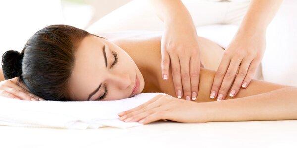 Masáž chrbta a šije, nôh alebo chodidiel