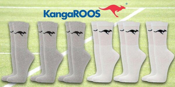 Pánske športové ponožky značky KangaROOS